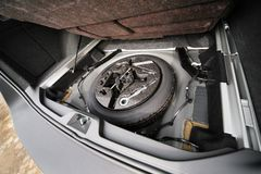 Moderne auto Royalty-vrije Stock Foto's