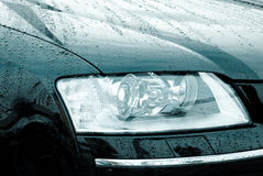 Moderne auto Stock Foto's