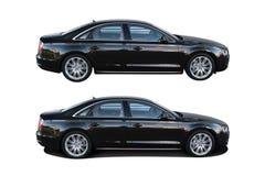 Moderne auto Audi A8 Royalty-vrije Stock Afbeeldingen