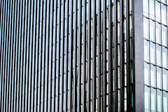 Moderne Bürofassade Stockfotos
