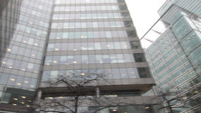 Moderne Bürogebäude stock video footage