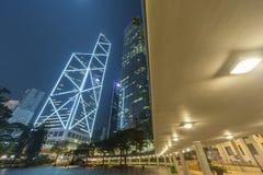 Moderne Bürogebäude des hohen Aufstieges in Hong Kong-Stadt Stockfoto