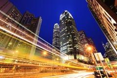 Moderne Bürogebäude in Hong Kong Lizenzfreies Stockfoto