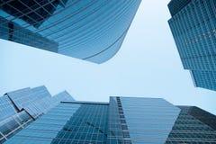 Moderne Bürohaus Stockbilder