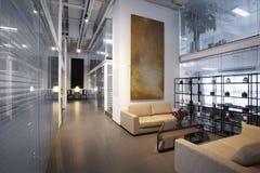 Moderne Büroräume Stockfotos