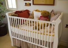 Moderne babyslaapkamer. stock foto's