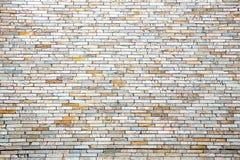 Moderne Backsteinmauer Lizenzfreies Stockbild