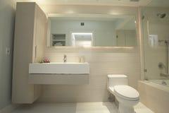 Moderne badkamers Royalty-vrije Stock Afbeelding