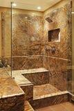 Moderne badkamers. Royalty-vrije Stock Fotografie