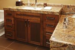 Moderne badkamers. Royalty-vrije Stock Afbeelding