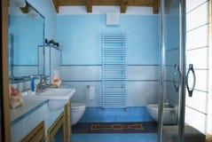 Moderne badkamers Royalty-vrije Stock Afbeeldingen