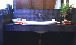 Moderne badkamers Stock Foto