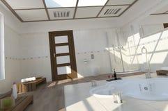 Moderne badruimte Royalty-vrije Stock Foto's