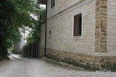 Moderne Baksteenarchitectuur van het Huis Royalty-vrije Stock Fotografie