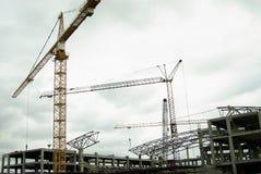 Moderne Baustelle Lizenzfreies Stockbild