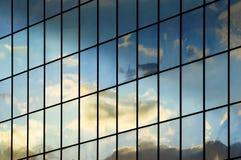 Moderne bedrijfs de bouwachtergrond Royalty-vrije Stock Foto's