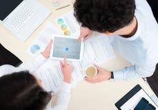 Moderne bedrijfs planning Stock Foto's