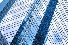 Moderne bedrijfsarchitectuur, abstracte foto Stock Foto