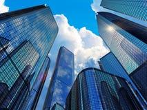 Moderne bedrijfsgebouwen Stock Afbeelding