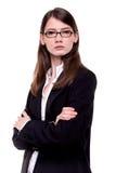 Moderne Bedrijfsvrouw/Student Royalty-vrije Stock Foto