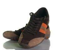 Moderne beiläufige Schuhe Lizenzfreie Stockfotografie