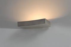 Moderne Beleuchtung für warme Atmosphäre Stockbild