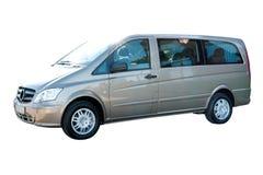 Moderne Bestelwagen royalty-vrije stock afbeeldingen