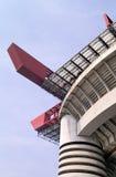Moderne beton en staalcons. Stock Foto
