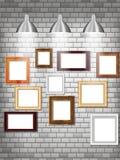 Moderne Bilderrahmen Stockbilder