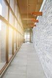 Moderne binnengang Royalty-vrije Stock Foto