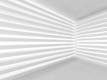 Moderne Binnenlandse Zaal de Muurachtergrond van het Streeppatroon Royalty-vrije Stock Fotografie