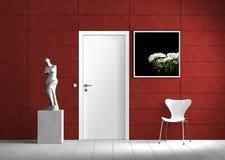 Moderne BinnenScène Royalty-vrije Stock Foto