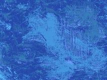 Moderne blaue Beschaffenheit des Schmutzes, cerulean abstrast Grafikhintergrund Stockfoto
