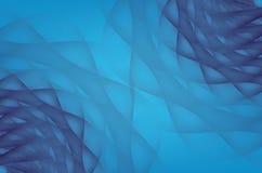 Moderne blauwe abstracte Onderwaterpatroonachtergrond Royalty-vrije Stock Fotografie