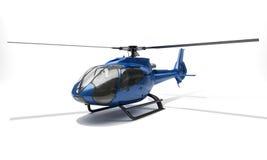Moderne helikopter Royalty-vrije Stock Afbeeldingen