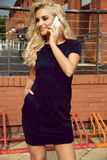Moderne blonde Damenaufstellung Lizenzfreie Stockbilder