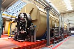 Moderne boiler royalty-vrije stock foto