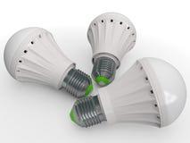 Moderne bol voor verlichting stock illustratie