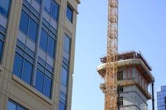 Moderne bouw Royalty-vrije Stock Afbeeldingen
