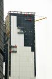 Moderne bouwconstructie Stock Foto