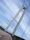 Moderne Brücke Stockfotografie