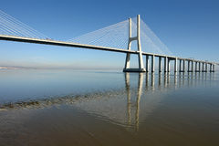 Moderne Brücke Lizenzfreies Stockbild