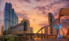 Moderne Brücke Stockfoto