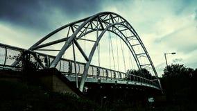 Moderne Brücke Stockbild