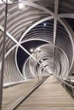 Moderne Brücke in Madrid Stockbilder