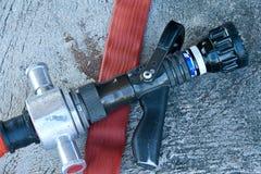 Moderne brandpijp Stock Fotografie
