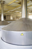 Moderne Brauerei Stockfotos