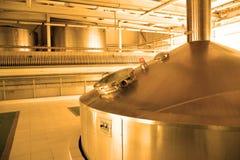 Moderne Brauerei Lizenzfreie Stockbilder