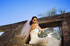 Moderne Braut stockbild