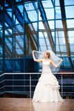 Moderne Braut Stockfotografie